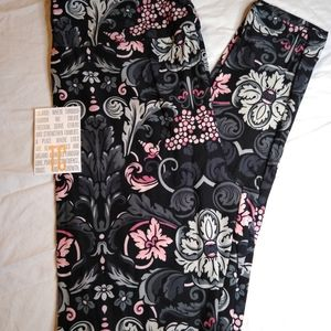 NEW TC LULAROE LEGGINGS ~ FLORAL PRINT